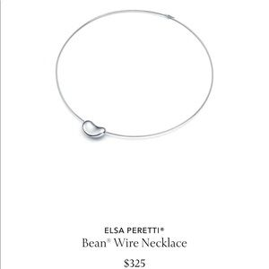 TIFFANY & Co. BEAN WIRE NECKLACE